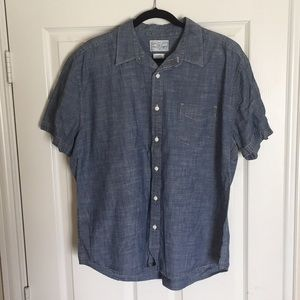 LUCKY BRAND shirt chambray XL